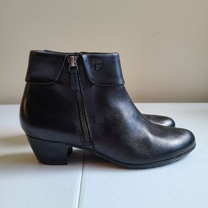 Josef Seibal ankle leather boots sz 38 [N1A]